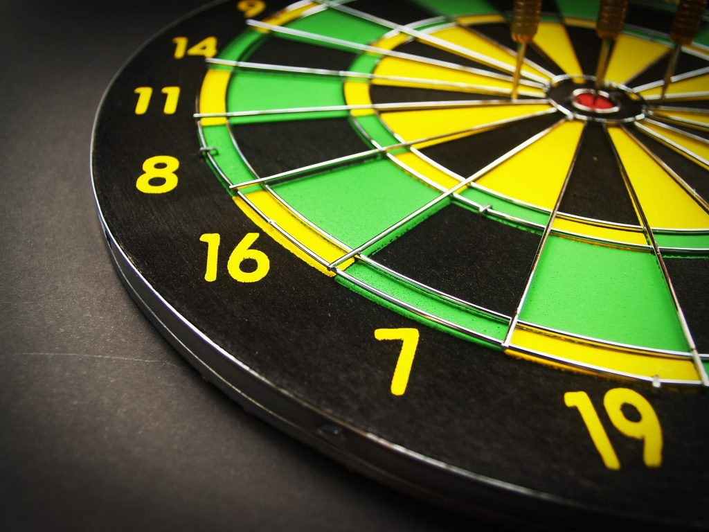 what are the rules of darts as you play dartboard darts