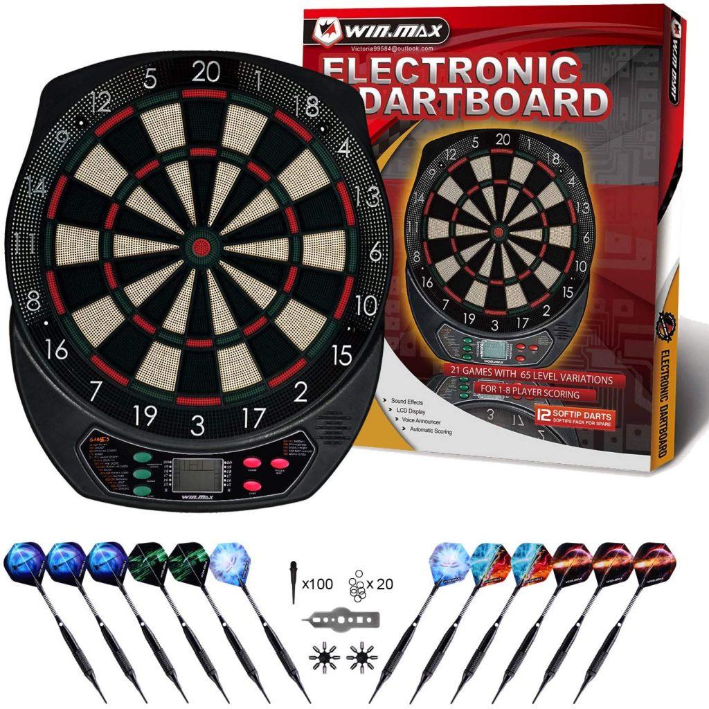win max diana electronica diana dardos 6 dardos y 40 puntas de plastico de repuesto
